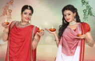 Shree Rajput and Ekta jain shoots for Durga puja