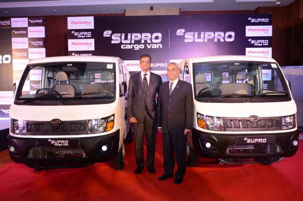 Mahindra launches eSupro - India's 1st All Electric Cargo and Passenger Van
