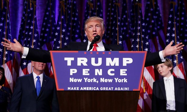 Donald Trump pledges to be president for 'all Americans' after US election victory