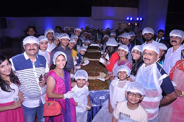 Annual cake mixing ceremony flagged off at Citrus Hotels amongst much cheers
