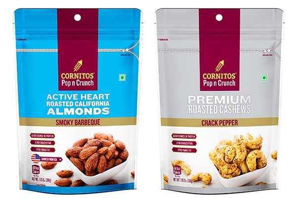 Cornitos launches Flavoured Nuts