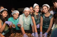 Cake Mixing Ceremony at Level 12 – DoubleTree by Hilton Hotel, Chinchwad