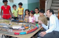 Exhibition of miniature working models of Trainsin Pune