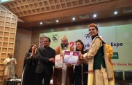 VIVEK MISHRA OF BIG BOSS 7 FAME & DADA SAHEB PHALKE AWARD RECIPIENT FELICITATED WITH BHARAT NIRMAN AWARD