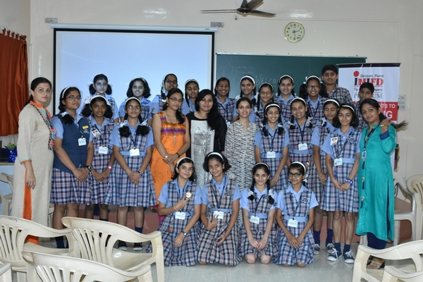 AN INSIGHT FOR FASHION BY INIFD DECCAN AT CITY PRIDE SCHOOL