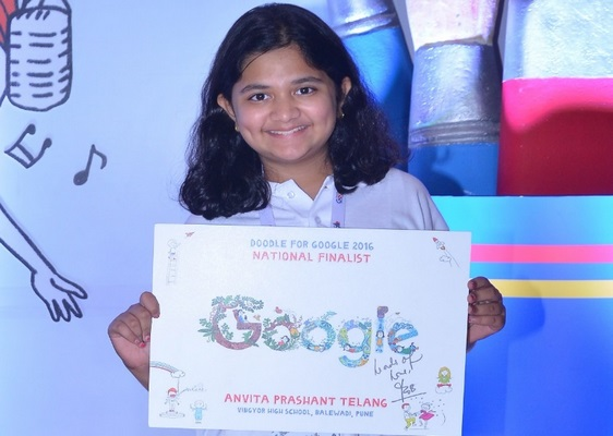 6th grader wins votes and hearts to become National Winner of Doodle 4 Google contest