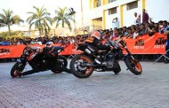KTM organises a spectacular Stunt show in Pune
