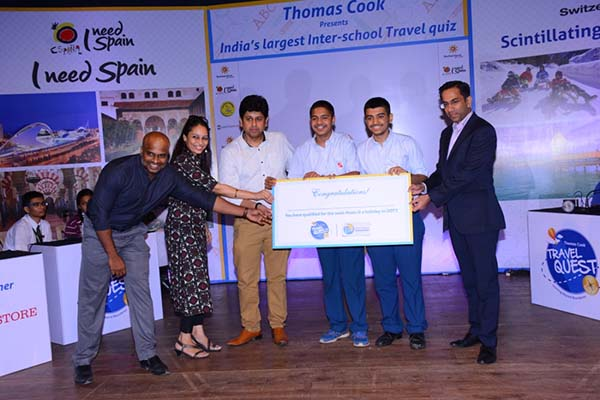 Symbiosis School, Pune wins Thomas Cook India's Travel Quest Season III City Finals in Mumbai