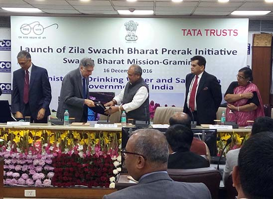 Govt to deploy 600 young professionals in districts to boost Swachh Bharat Tata Trusts to support initiative