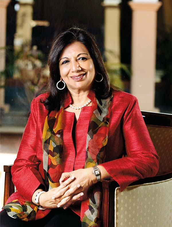 Kiran Mazumdar-Shaw to debut an Art and Science Exhibition at Serendipity Arts Festival 2016