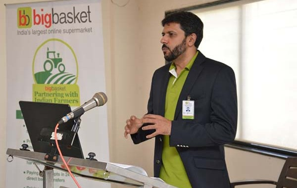 bigbasket inaugurated 'Collection Center (CC)' at Manchar on the occasion of its 5th year anniversary in the presence of Hon. Minister Sadabhau Khot