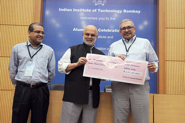 Mrs. Parimal & Pramod Chaudhari donate Rs. 2.51 Crore to IIT Bombay to set up Centre for Learning and Teaching