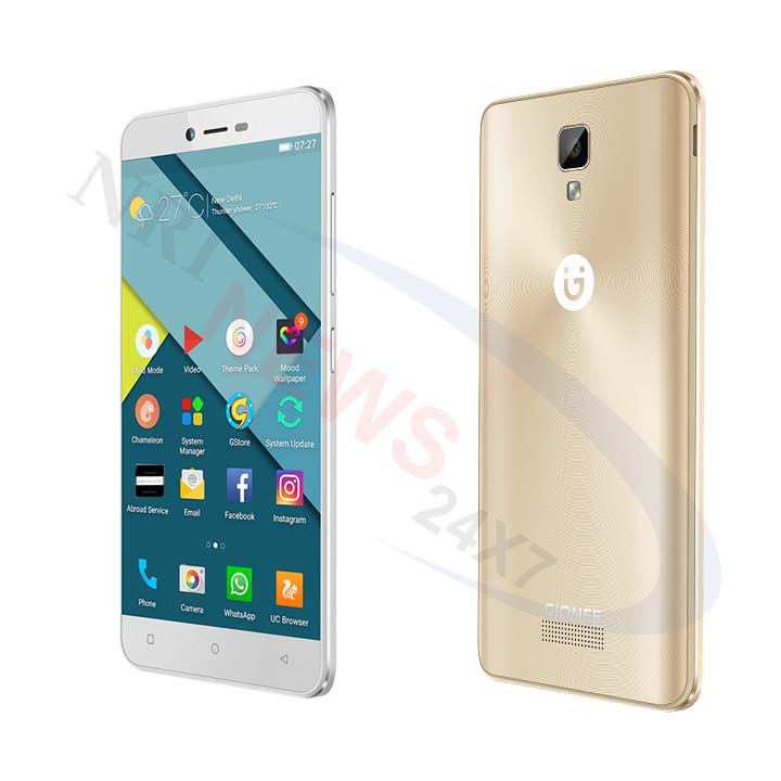 Gionee introduces the latest in the P series, Pioneer P7