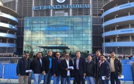 ETIHAD AIRWAYS HOSTS TOP SOUTH INDIAN TRAVEL AGENTS ON FOOTBALL FAMILIARISATION TRIP TO MANCHESTER
