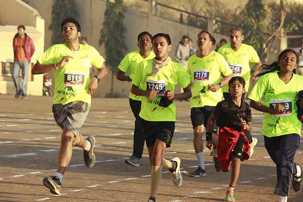 Over 5000 runners participated in Lokmat Aurangabad Marathon - Marathwada's Biggest Marathon