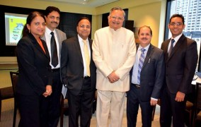 A high-level delegation from the State Government of Chhattisgarh (India) led by Dr. Raman Singh, Chief Minister of Chhattisgarh in Chicago