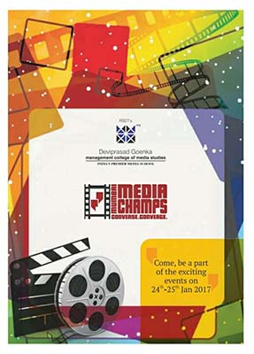 """Mumbai Media Champs"" Festival on 24th & 25th January 2017"