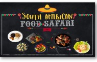 South American Food Safari - Aloft Bengaluru Cessna Business Park