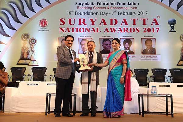 Prestigious Suryadatta National Awards 2017 held amidst great fervour