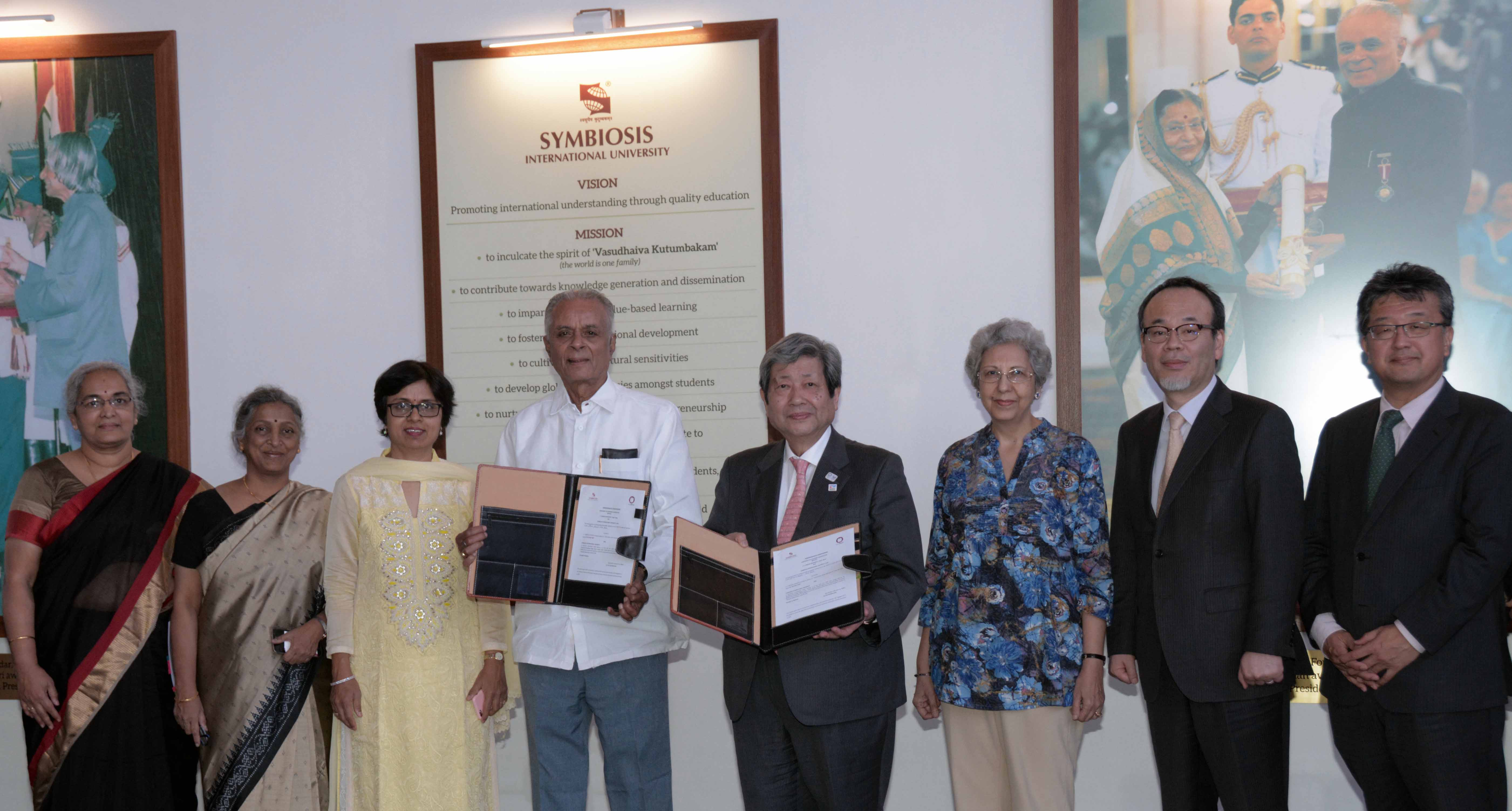 Delegation from J .F Oberlin University, Japan visits Symbiosis International University