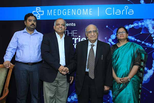 MedGenome announces the launch of CLARIA CARRIER SCREENING TEST