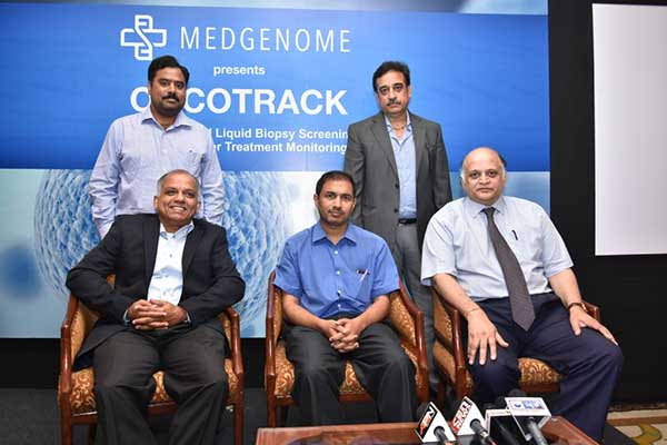 "MedGenome launches ""ONCOTRACK"", the Liquid Biopsy blood test for cancer recurrence detection and monitoring"