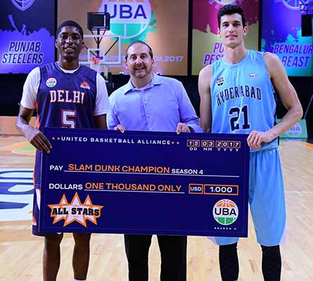 UBA's first Slam Dunk Contest and 3-Point-Competition come down to the wire