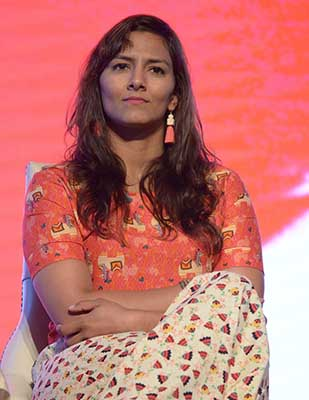 """Dangal gave a platform to recognize women wrestlers"" says Geeta Phogat at Lokmat Women's Summit"