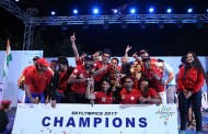 SpiceJet wins the Champions trophy at Skylympics 2017