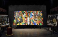 Contemporary artist M. Narayan's work at Bond-the art and fashion theatre