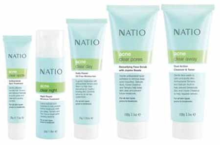 NATIO's Natural Solutions for problem skin
