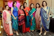 """The Indo-American Heritage Museum's reveal  """"Unstitched: The Art of Sari Draping"""""""