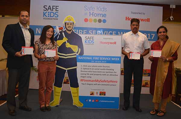 PUNE GETS 100 YOUNG FIRE MARSHALS DURING NATIONAL FIRE SERVICE WEEK