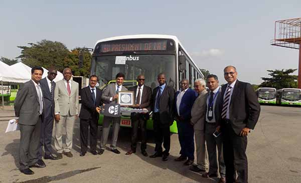 Tata Motors receives order for 500 buses from IVORY COAST