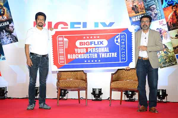 Reliance Entertainment launches BIGFLIX, India's first multi-language HD movie platform, globally