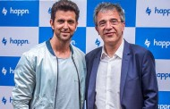 Bollywood megastar Hrithik Roshan becomes brand ambassador of the leading global meet-up app happn