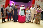 """Introducing """"EA BOT"""" - First Ever Robot in any Indian Mall at Express Avenue"""