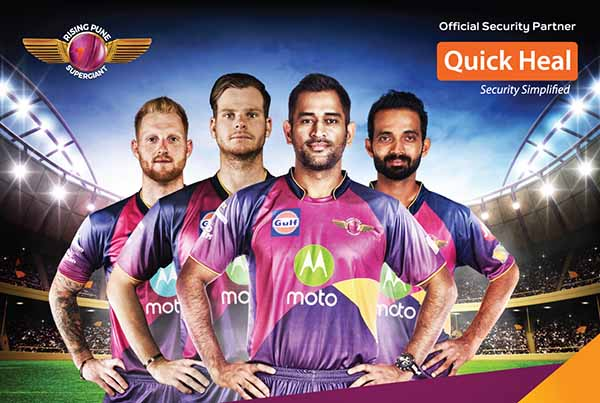 Quick Heal partners Rising Pune Supergiant to spread mass awareness on Internet security