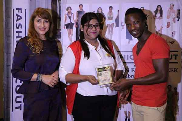 INIFD Deccan Pune students rocked at London Fashion Scout