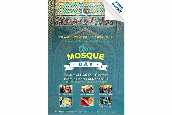 Islamic Center of Naperville (ICN) to host Open Mosque day for all Faiths