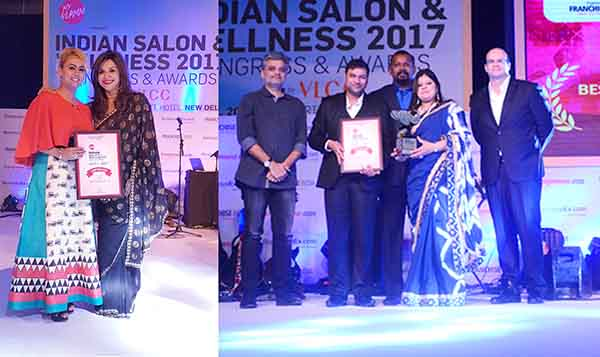 Indian salon and wellness award 2017 Congress & ceremony at JW Marriott