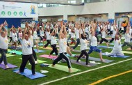 Third International Yoga Day, organized by Consulate General of India in Chicago, attracted thousands of Indian-Americans and people belonging to other Nationalities