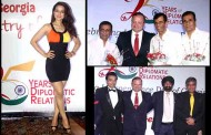 Celebs grace the 99th Independence Day celebration of Georgia at Taj Hotel in Colaba.