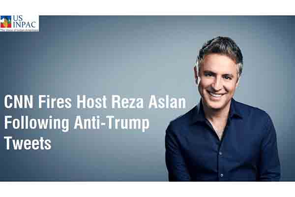 CNN Fires Host Reza Aslan Following Anti-Trump Tweets