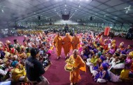 Magnificent Guru Purnima Celebration by Mahant Swami Maharaj at BAPS Shri Swaminarayan Mandir, Chicago