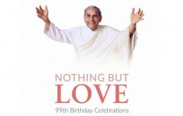 99 Birthday of Spiritual Leader marked with 99-hour Yagna, Prayers, Melodies by Acclaimed singers, Talks and Forgiveness Session – The Moment of Calm
