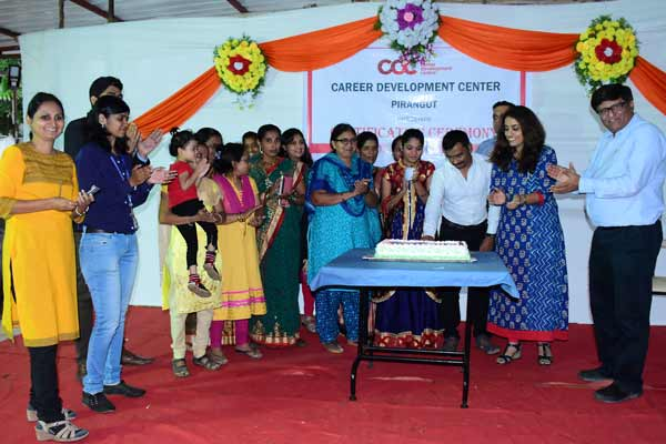 Hindustan Coca-Cola Beverages felicitates students completing skill training at Career Development Centre Pirangut
