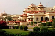 RAMBAGH PALACE, JAIPUR RATED AMONG WORLD'S BEST HOTELS