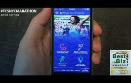 TCS New York City Marathon App Wins Gold at Best in Biz Awards 2017 International