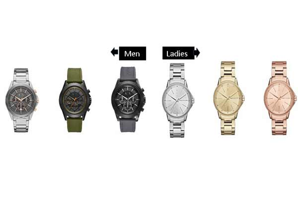 Make Raksha Bandhan special with a selection of timepieces from Armani Exchange